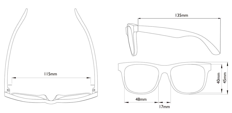Okulary przeciwsłoneczne Real Shades Switch Light