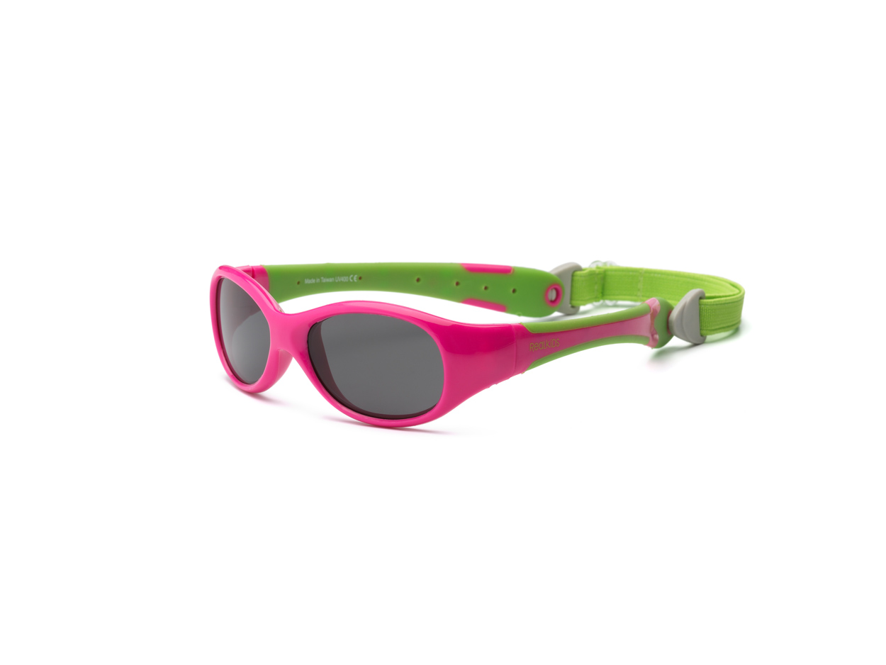 Explorer Polarized - Cherry Pink and Lime 0+