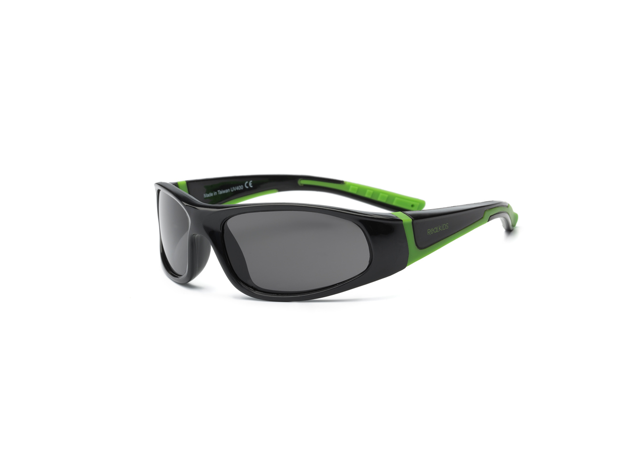 Bolt Polarized - Black Lime 7+